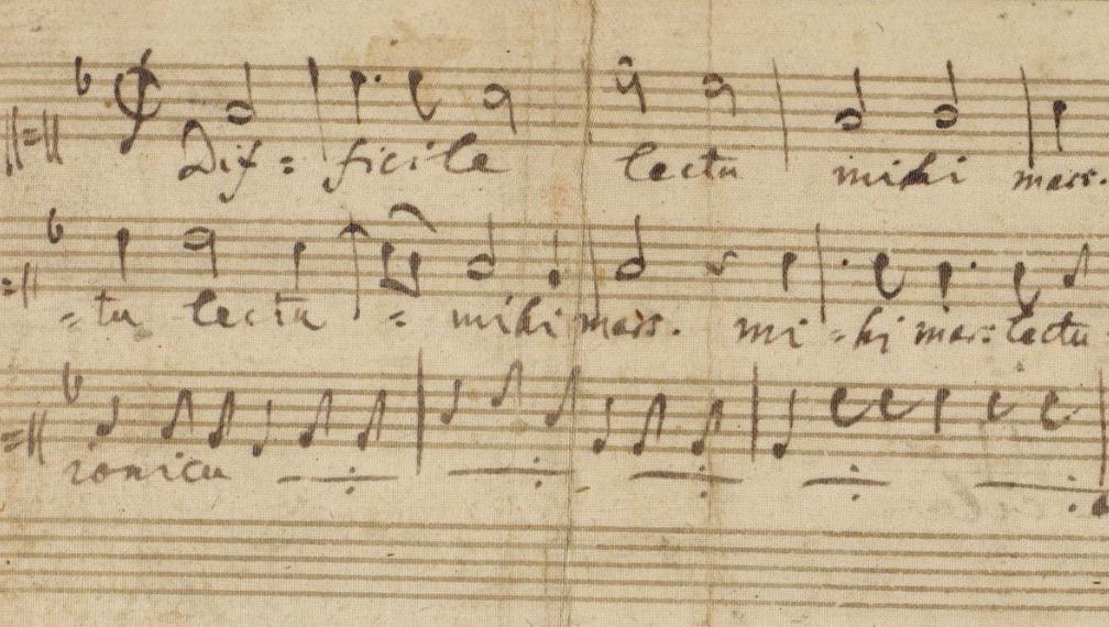 Maestri e scolari di musica da Guido monaco a Mozart